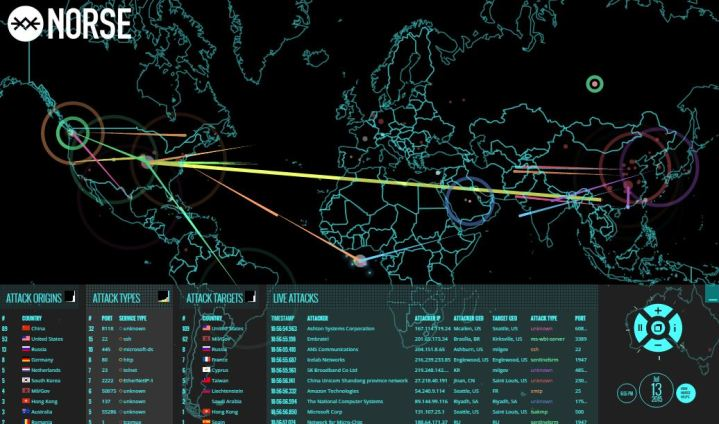 norse-map-cyber-attack